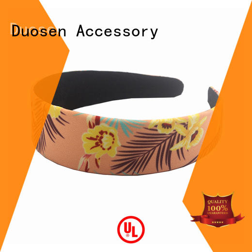 Duosen Accessory cross wire fabric headband manufacturers for running