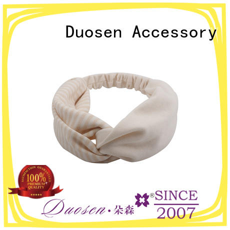 Duosen Accessory Best organic fabric headband Suppliers for prom