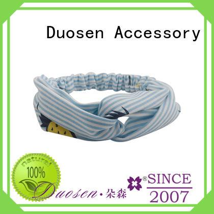 Duosen Accessory Custom womens fabric headbands Suppliers for prom