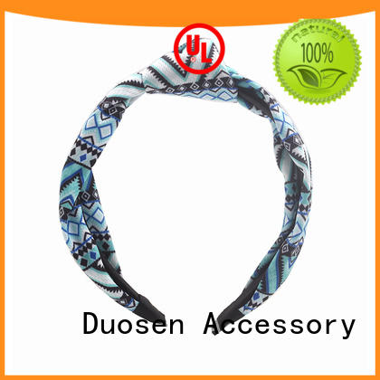 Duosen Accessory Top fabric headbands wholesale manufacturers for running