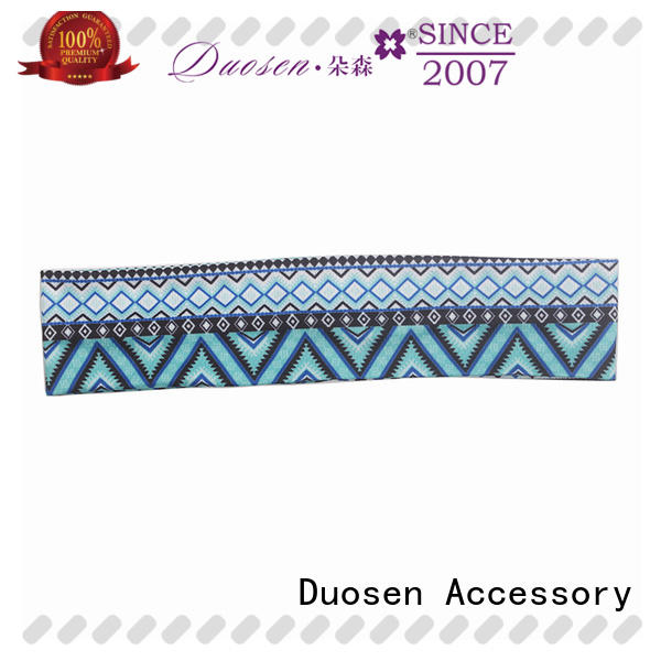 Duosen Accessory Best girls fabric headbands Supply for sports