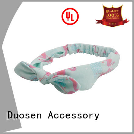 light band milk Duosen Accessory Brand organic fabric headband supplier