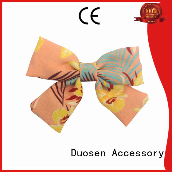 Duosen Accessory Top cloth bows Supply for party