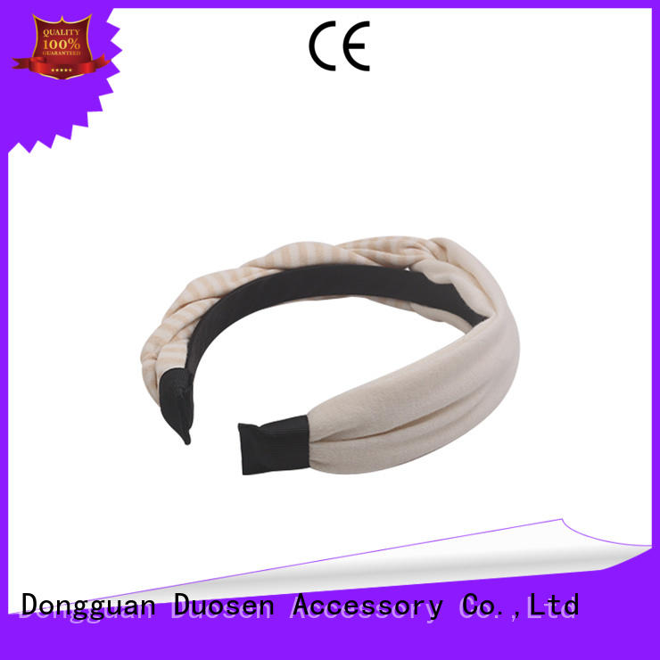 Custom fabric headbands wholesale changeable for business for dancer