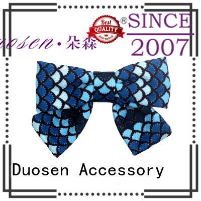 organic fabric girls hair clip organic hawaii Warranty Duosen Accessory