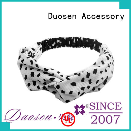 Duosen Accessory High-quality womens fabric headbands factory for prom