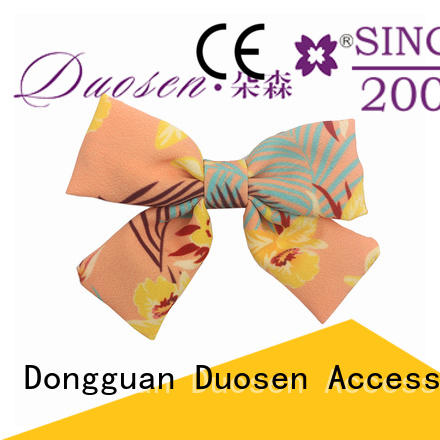 Duosen Accessory durable decorative hair clips cross for party