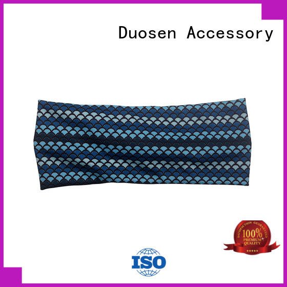 OEM eco-friendly custom headband customized for sports Duosen Accessory