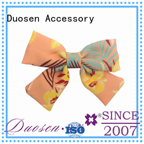 Duosen Accessory hair how to make flower girl hair accessories manufacturer for party