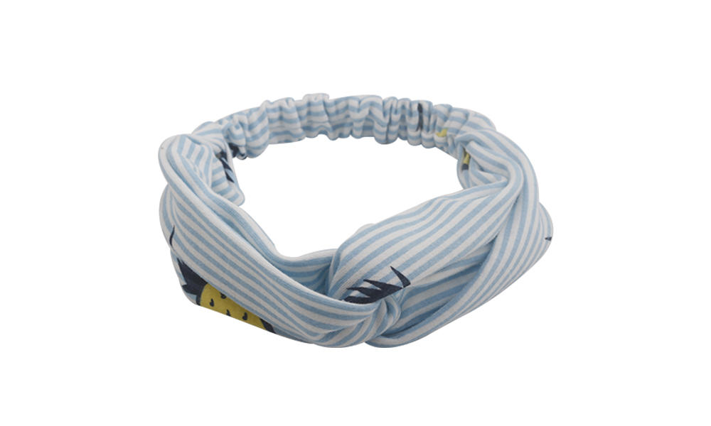 OEM recycled fabric hairband bow series for running-1