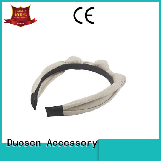 Duosen Accessory Wholesale fabric headbands wholesale Suppliers for sports