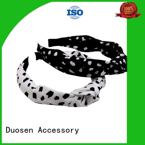 Duosen Accessory elegant women's fashion headbands hairbands for running