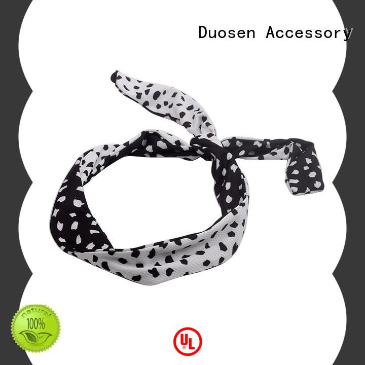Duosen Accessory lightweight eco-friendly plastic hai band three for prom