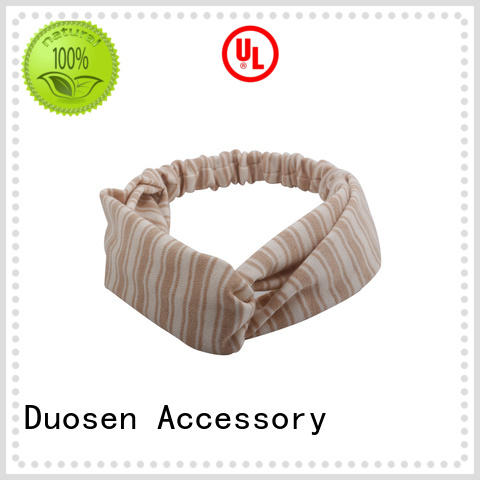 Duosen Accessory accessories organic fabric headband for business for prom