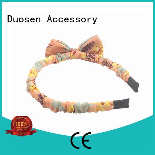 Duosen Accessory Custom fabric headbands company for prom