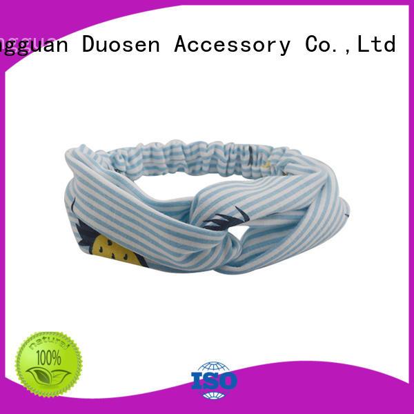Duosen Accessory Custom eco-friendly headband factory for party
