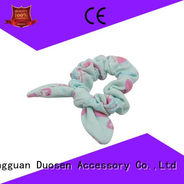 Duosen Accessory urban fabric scrunchies customized for daily life