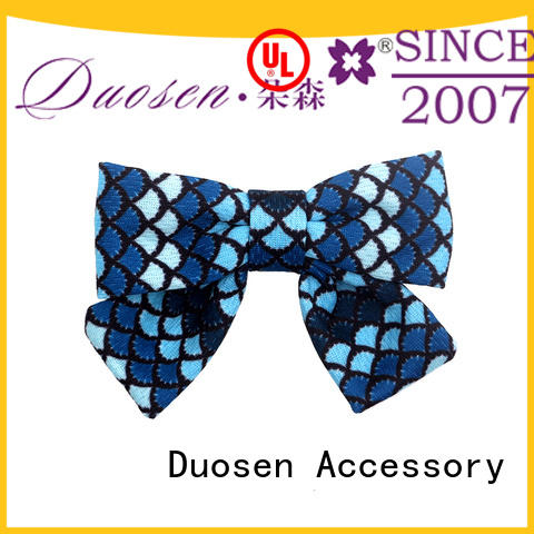 Duosen Accessory color fabric hair bands wholesale for women