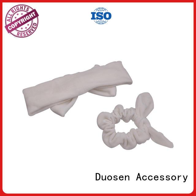 spot flamingo wave OEM organic fabric headband Duosen Accessory