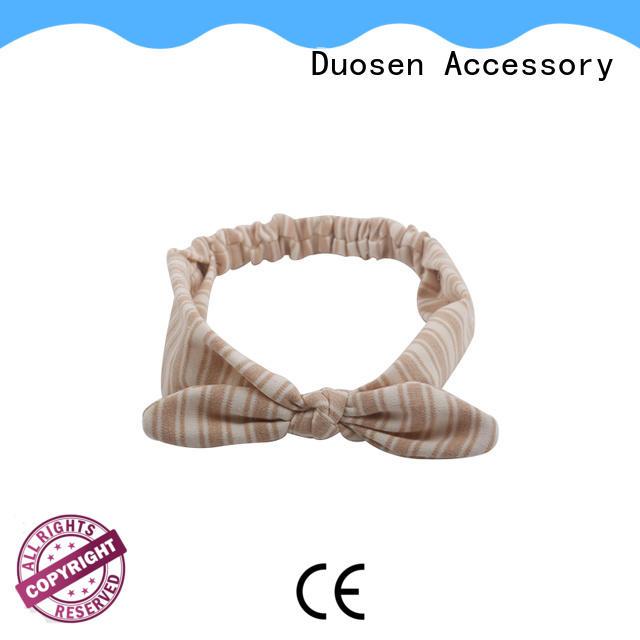 Duosen Accessory New cheap fabric headbands Suppliers for prom