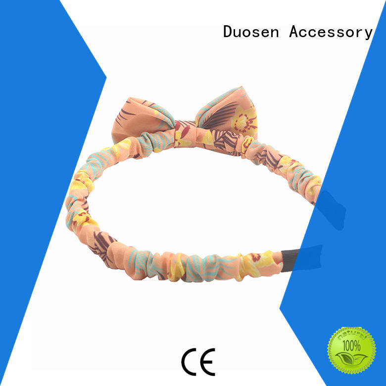 Duosen Accessory convinent fabric headband with regular use for running
