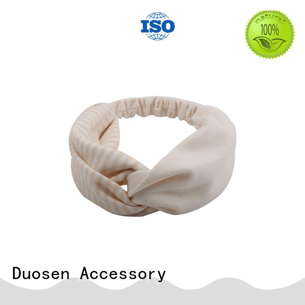 Duosen Accessory Wholesale fabric headband for business for daily Life