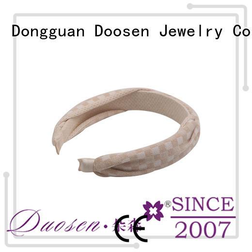 Custom environmentally organic fabric headband pineapple Duosen Accessory