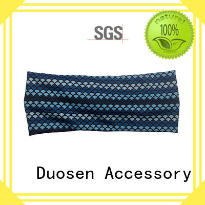 ODM wire fabric headband color series for running