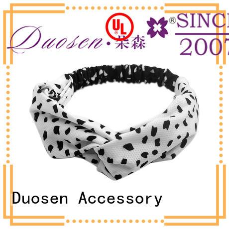 ODM fabric tie headbands bright supplier for dancer
