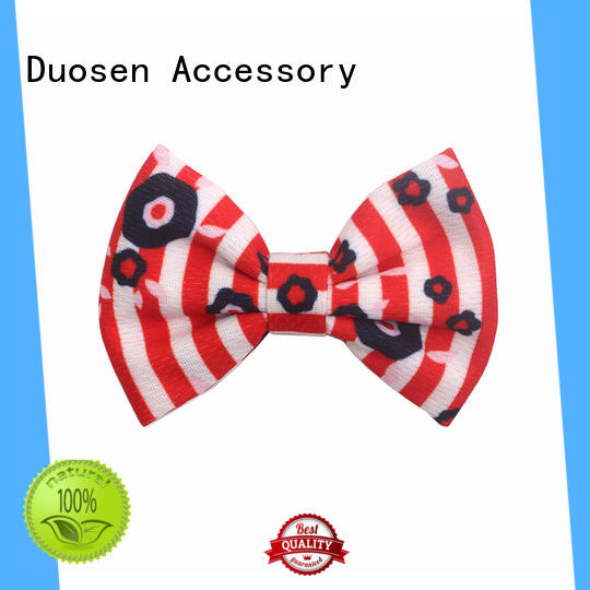 Duosen Accessory accessories fabric hair clip for all hair types for girls