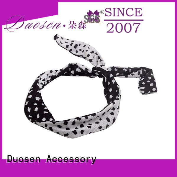 Duosen Accessory Latest wire fabric headband Suppliers for prom