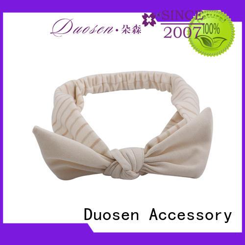 Duosen Accessory lightweight wire fabric headband wholesale for dancer
