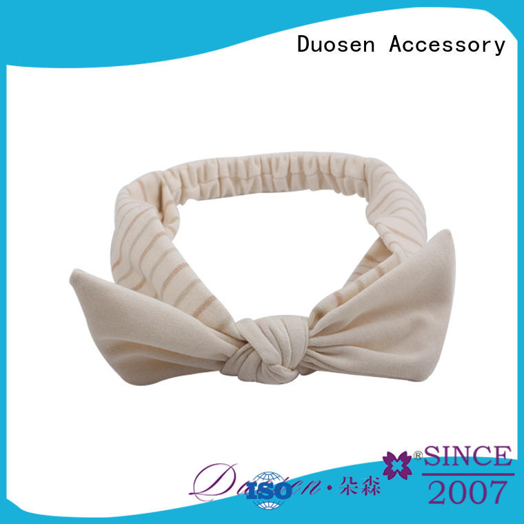 OEM fabric tie headbands accessories supplier for daily Life