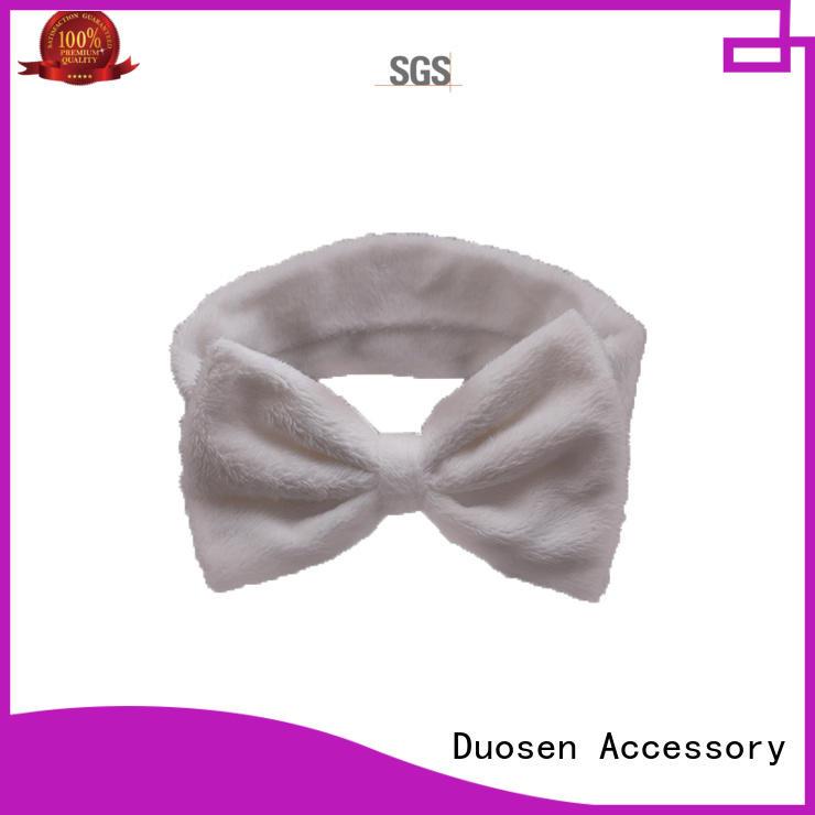 Duosen Accessory Latest organic fabric bow headband Supply for running