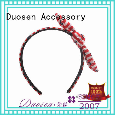 Duosen Accessory organic fabric headband manufacturers for running