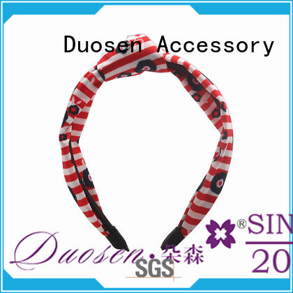 Duosen Accessory hawaii recycled fabric hairband for business for party