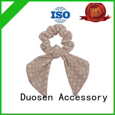 Duosen Accessory Best scrunchie hair ties Supply for daily life