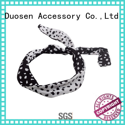 Duosen Accessory elegant eco-friendly headband with regular use for party