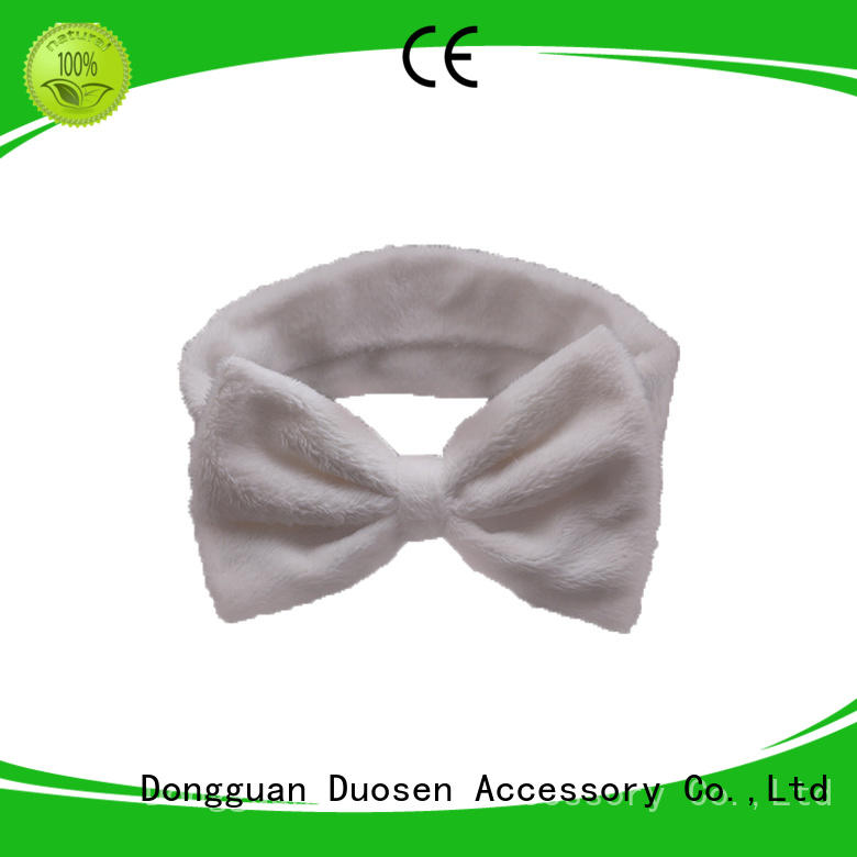 Duosen Accessory design organic fabric hairband Suppliers for dancer