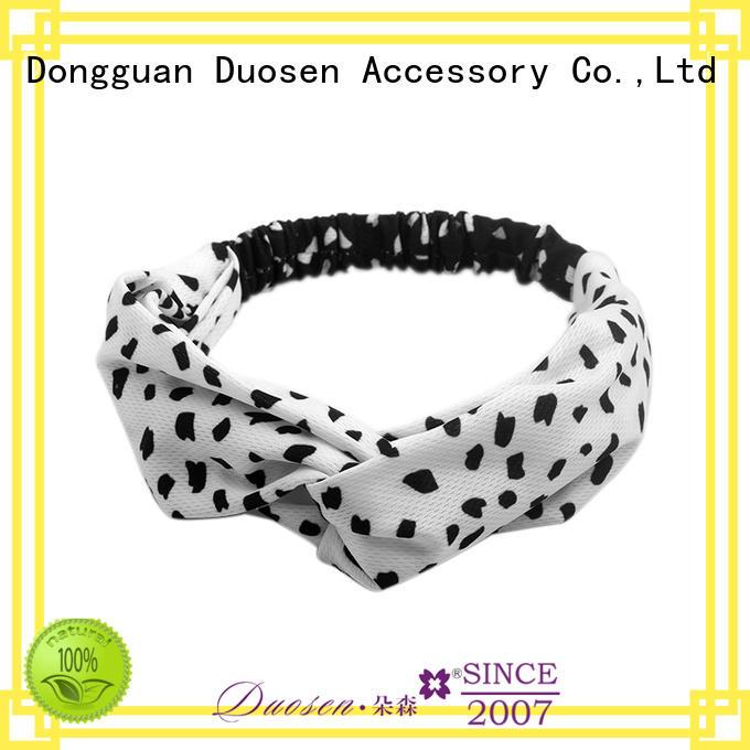 Duosen Accessory hawaii fabric headbands wholesale customized for daily Life