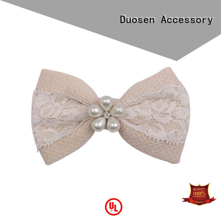 Duosen Accessory women hair bow pin Supply for daily life