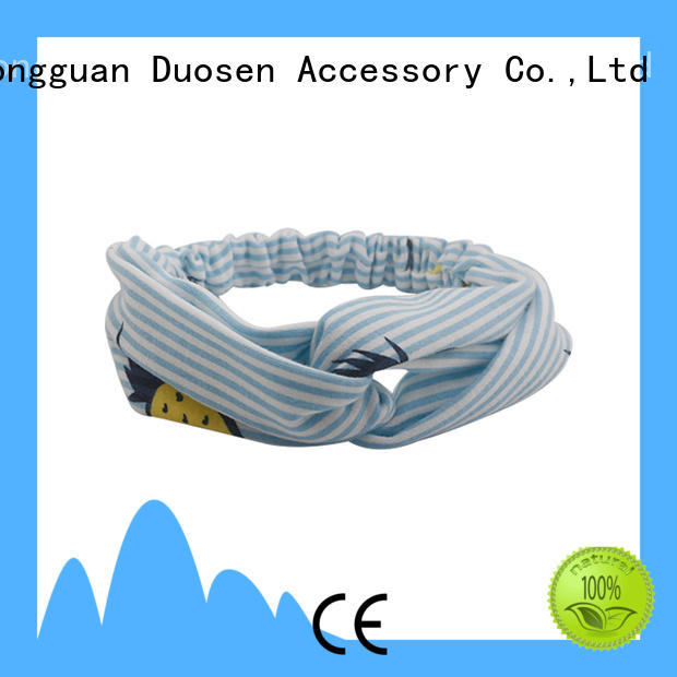 Top fabric headbands wholesale accessories factory for dancer